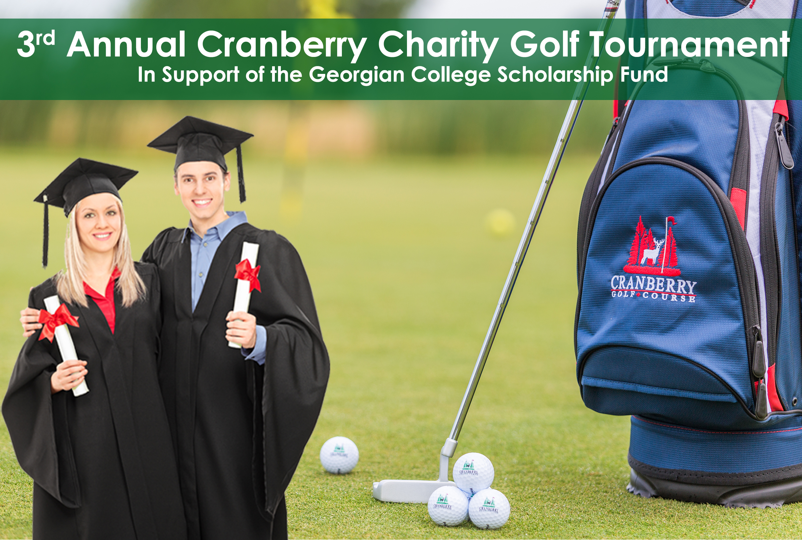 THIRD ANNUAL CHARITY GOLF TOURNAMENT IS JUST AROUND THE CORNER!