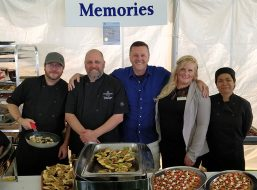 Living Water Resort Chefs Cater To Your Events.