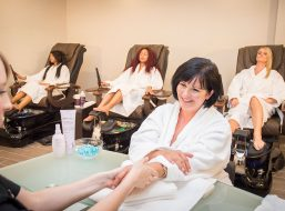 Mani Pedis At Living Water Spa