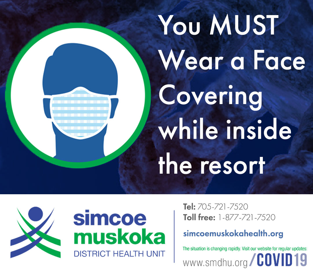 Covid Mask Requirement Sign